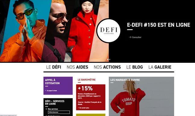 DEFI site internet